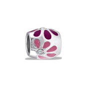 Pink Daisy Bead - TRUNK SALE, NO FURTHER DISCOUNT