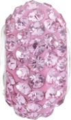 October Austrian Crystal Pave Bead