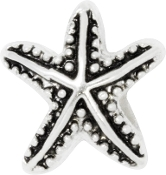 Starfish Silver Plated Bead by Amanda Blu