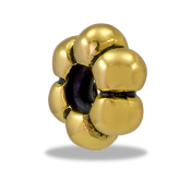 Gold Flower Stopper TRUNK SALE, NO FURTHER DISCOUNT