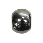 Polished Silver Plate Spacer Bead by Amanda Blu