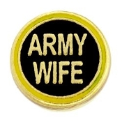 Army Wife Charm TRUNK SALE, NO FURTHER DISCOUNT