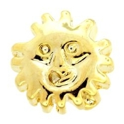 Sun Charm For Lockets - TRUNK SALE NO OTHER DISCOUNT