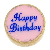 Happy Birthday Worded Charm For Lockets
