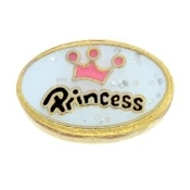 Princess Charm For Lockets