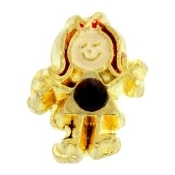 1- January Girl Birthstone Charm For Lockets