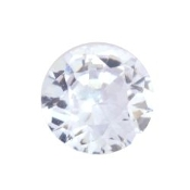 6- June Round Birthstone Charm For Lockets