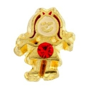 7- July Girl Birthstone Charm For Lockets