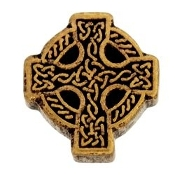 Celtic Cross Charm For Lockets