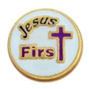 JESUS FIRST Charm For Lockets