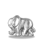 Silver Elephant Charm For Lockets