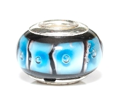 Azure Frames Prima Glass Bead by Amanda Blu®