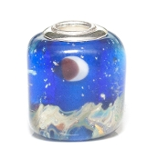 Evening Sky Artisan Glass Bead by Amanda Blu®