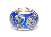 Gold Wildflowers Prima Glass Bead by Amanda Blu®