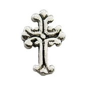 Vintage Cross Charm For Locket