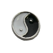 Ying and Yang Charm For Locket