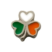 Luck of the Irish Charm for Lockets