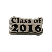 Class of 2016 Silver Charm for Lockets