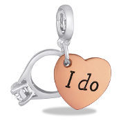"""I Do"" Drop Accessory by Forever In My Heart® Lockets"