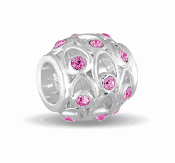 OCTOBER Crystal Orb Decorative Birthstone Bead by DaVinci®