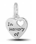 IN MEMORY OF Memorial Bead for DaVinci Inspirations® Jewelry