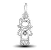 Mom Charm by The DaVinci® Heart of Family Collection