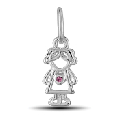 June Girl Charm by The DaVinci® Heart of Family Collection