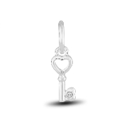 Key Charm by The DaVinci® Heart of Family Collection