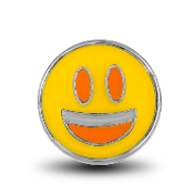 Smile Emoji Charm for Lockets