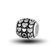 Mom Decorative Bead for Beaded Jewelry