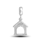 Doghouse Photo Charm for Beaded Jewelry