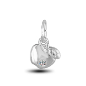 Apple Charm Bead for DaVinci Inspirations® Jewelry
