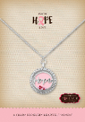 Breast Cancer Aware 2 Forever In My Heart Pre-Designed Locket