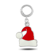 Santa Hat Dangle Charm for Forever in My Heart Lockets