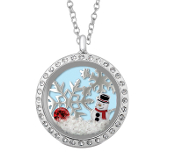 Ltd Edition Snowy Snowman Themed Premade Jewelry