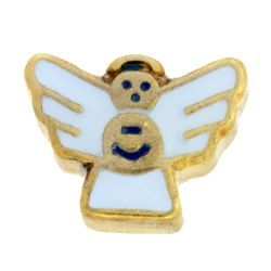 Angel (White) Charm For Lockets