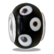 Black and White Bead - TRUNK SALE - No Further Discounts