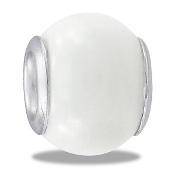 White Jade Bead