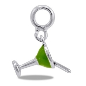 Margarita Glass Charm - TRUNK SALE - No Further Discounts