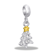 Christmas Tree CZ Bead by DaVinci