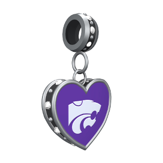 Kansas State Collegiate Bead by DaVinci
