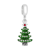 Christmas Tree with Green and Crystal by DaVinci
