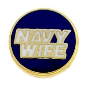Navy Wife Charm TRUNK SALE, NO FURTHER DISCOUNT