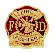 Fire Fighter Charm For Lockets