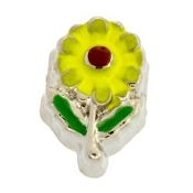 Sunflower Charm For Lockets