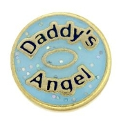 Daddy's Angel Charm TRUNK SALE, NO FURTHER DISCOUNT