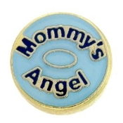 Mommy's Angel Charm For Lockets