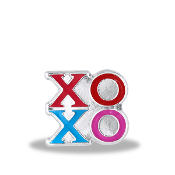 XO XO Charm For Lockets