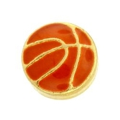 Basketball Charm For Lockets