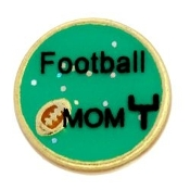FOOTBALL MOM Charm TRUNK SALE, NO FURTHER DISCOUNT